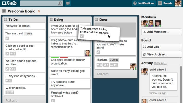 Trello-ToDo-board